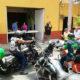 Vagos de México se solidarizan y regalan despensas de comida