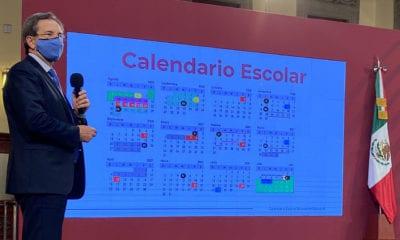 fechas del ciclo escolar 2020-2021 con 190 días efectivos.