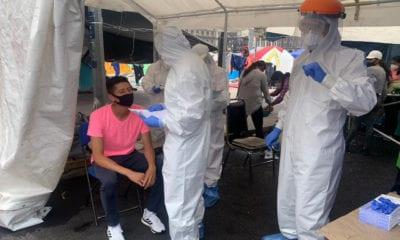 Atienden a maestros de la CNTE para evitar contagios de Covid