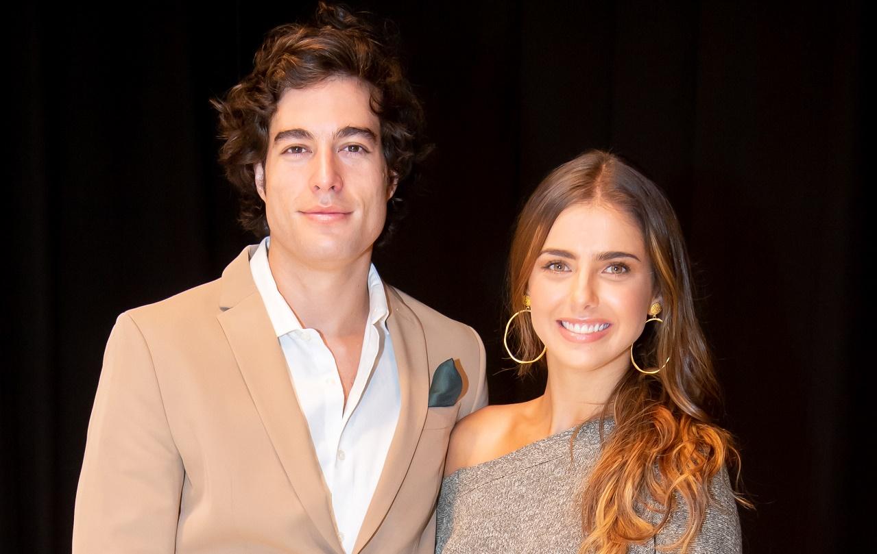 Michelle Renaud y Danilo Carrera