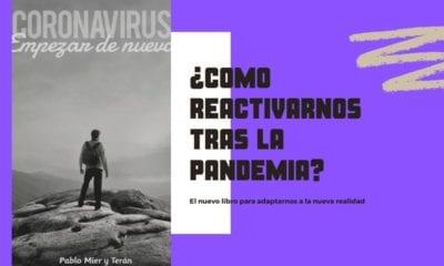 Libro, coronavirus, lectura, nueva normalidad