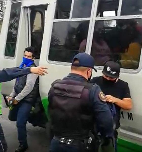 Para evitar robos en transporte, realizan operativo de seguridad