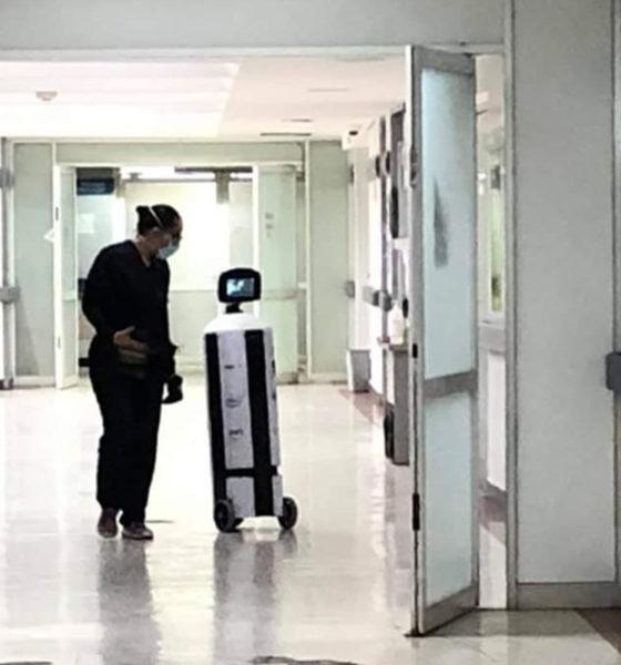 Llega la primera robot que atiende a pacientes Covid en México