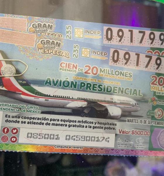 """""""Vuelan"""" los boletos del avión presidencial; quedan pocos en las calles"""