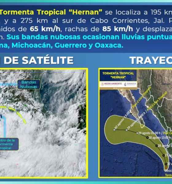 México implementa estrategias ante tormentas tropicales