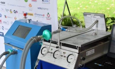 Presentan primer ventilador mexicano para hacer frente al Covid