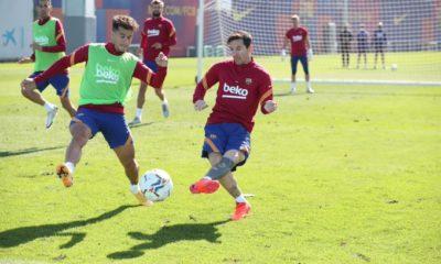 Arremete Messi en contra del Barcelona. Foto: Twitter Barcelona