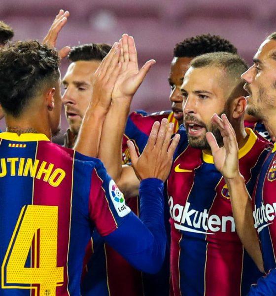 Atlético de Madrid quiere a Messi. Foto: Twitter Barcelona