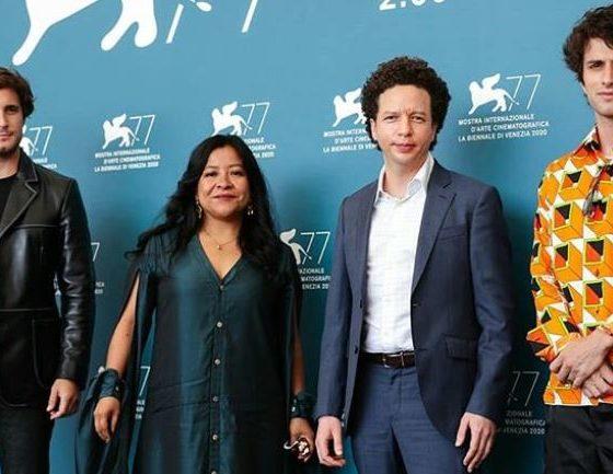 """Michel Franco y el elenco de """"Nuevo Orden"""""""