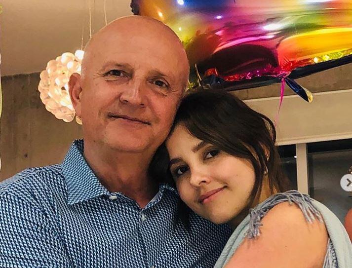Paulina Goto despidió así a su papá que acaba de morir. Noticias en tiempo real