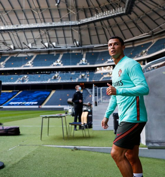 Cristiano Ronaldo llegó a 100 goles con Portugal. Foto: Twitter Selección de Portugal
