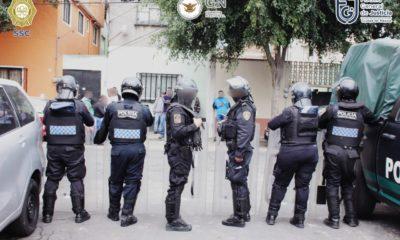 Detienen a presuntos vendedores de droga. Foto: SSC