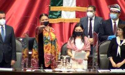Eligen a Dulce María Sauri presidenta de la Cámara de Diputados