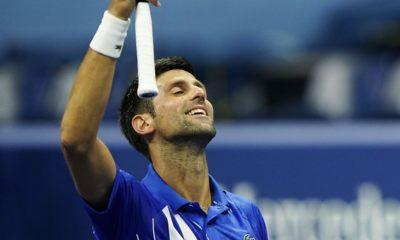 Djokovic no promete portarse bien. Foto: Twitter Djokovic