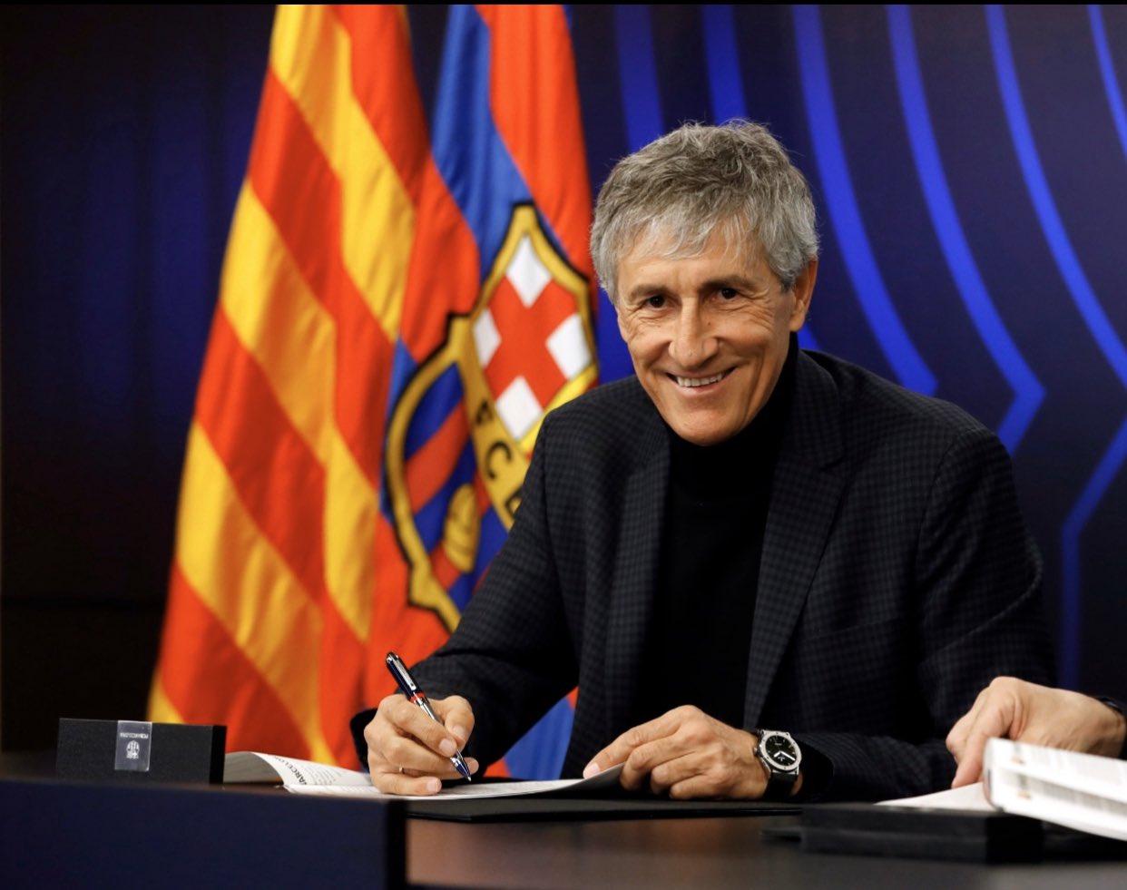 Quique Setién lleva al Barça a los tribunales. Noticias en tiempo real
