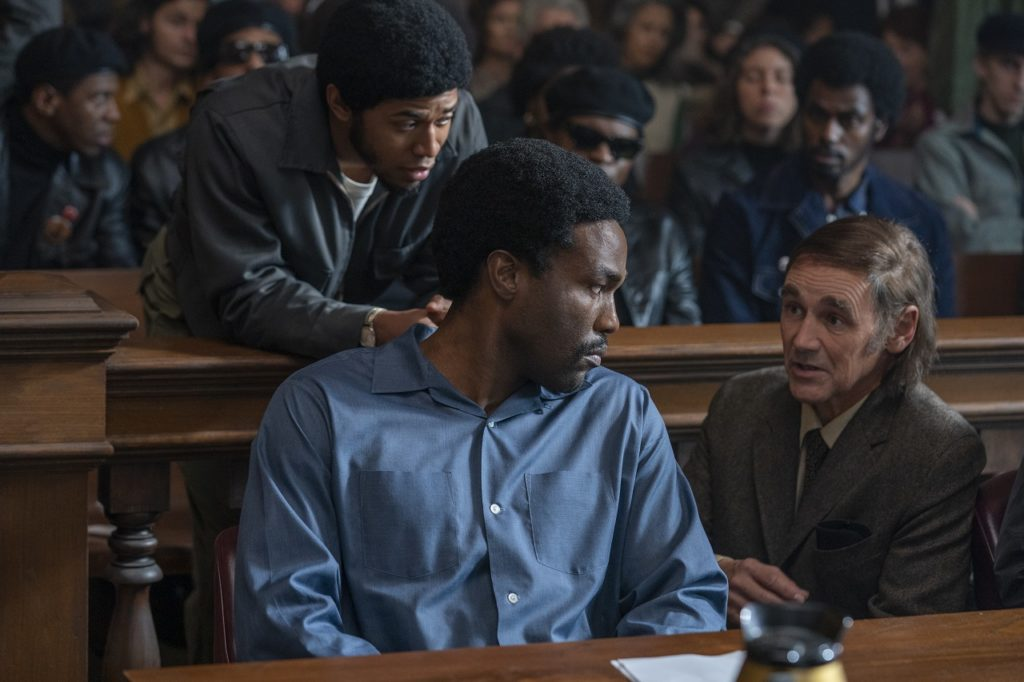 El juicio de los 7 de Chicago/Foto: Cortesía de Netflix