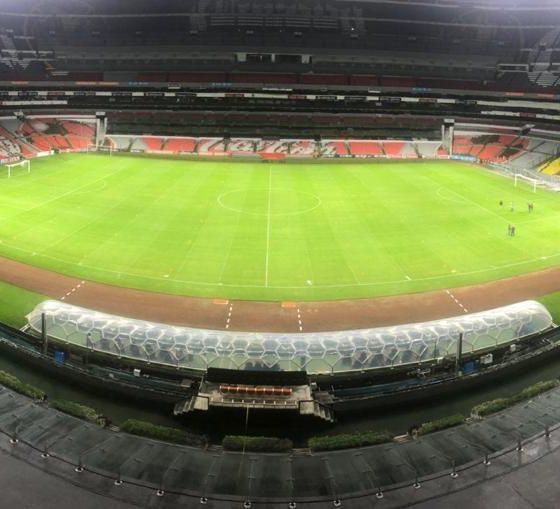 Estadio Azteca un dolor de cabeza. Foto: Twitter Estadio Azteca