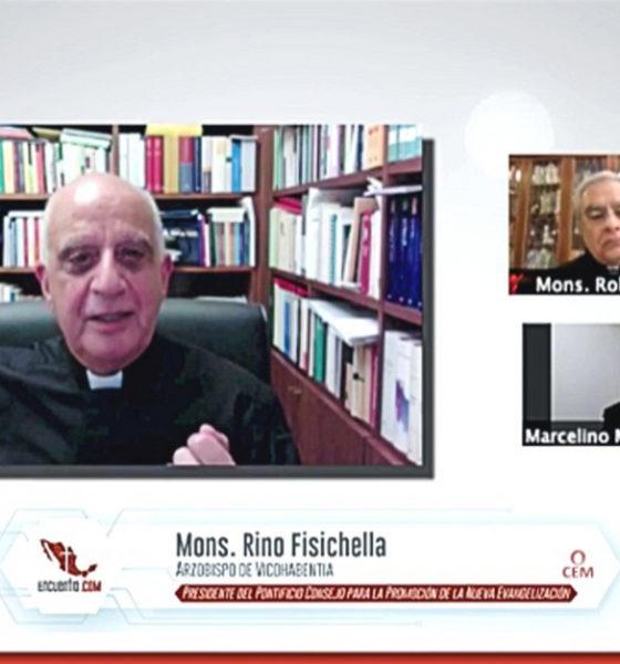 """""""Nos toca evangelizar en una cultura desafiante"""": Rino Fisichella"""