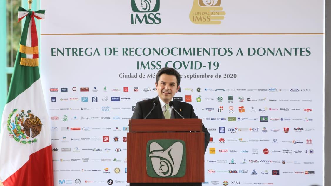 IMSS recibe 470 donaciones para hacer frente al Covid-19