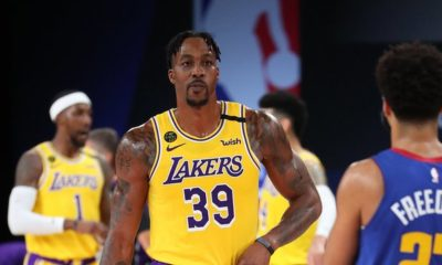 Lakers apaleó a los Nuggets. Foto: Twitter Lakers