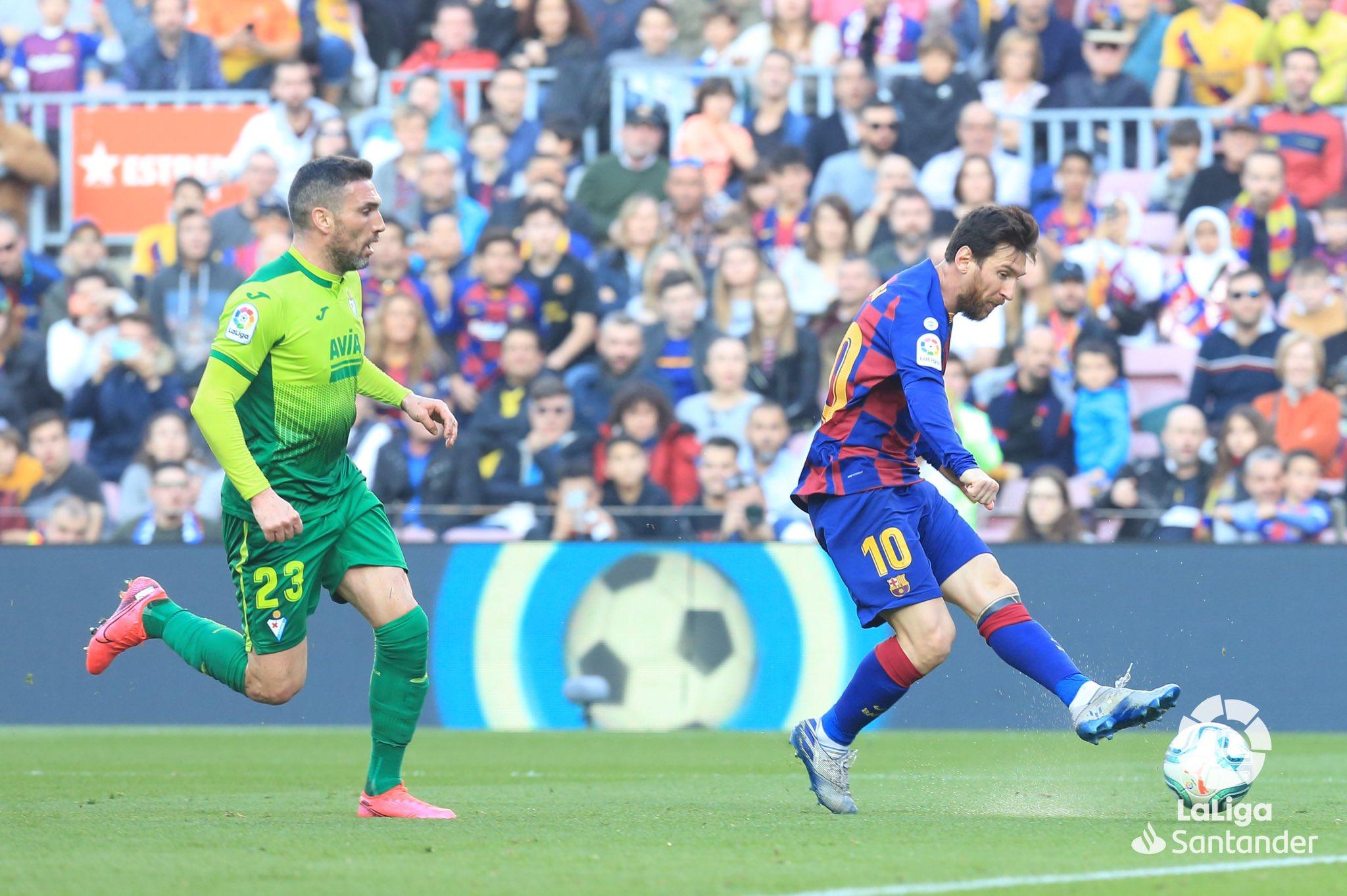 Laliga por encima de Messi. Foto: LaLiga