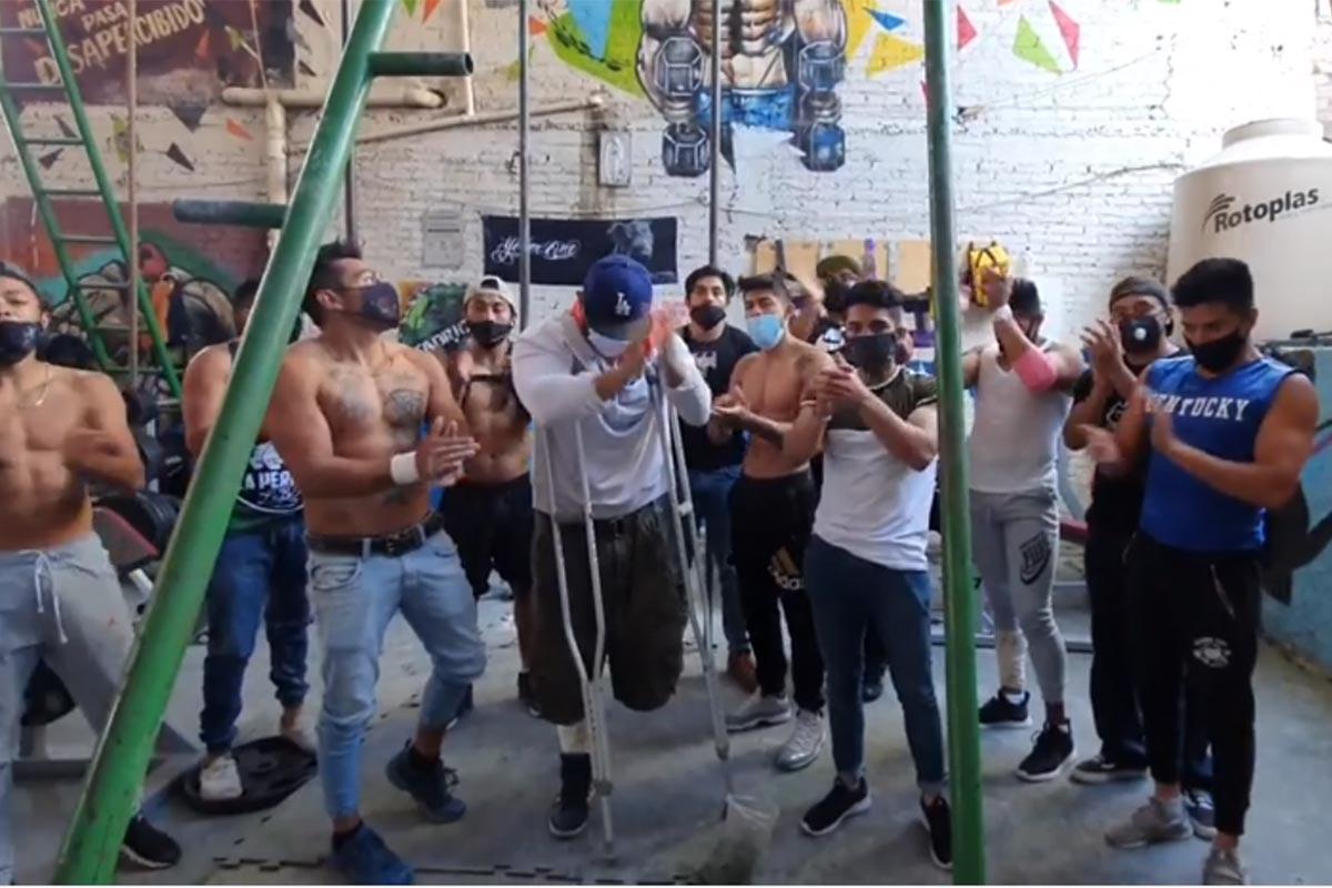 Las Barras Praderas se despidieron de La Jefa. Foto: Facebook