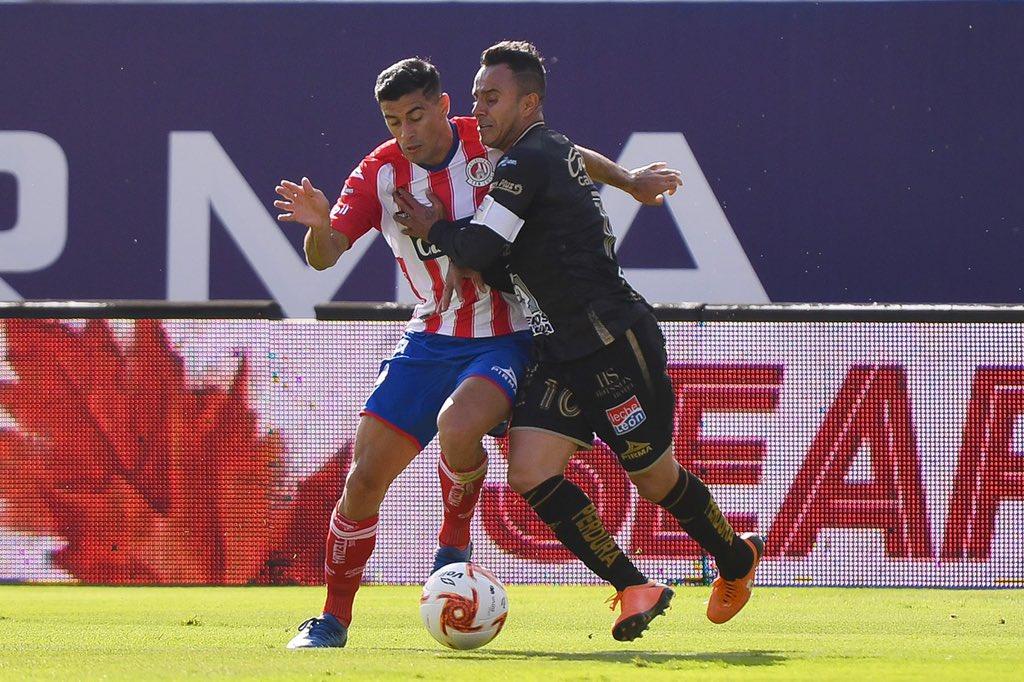 León le pegó a San Luis. Foto: Club León