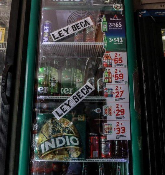 Ley Seca en la alcaldía de Iztapalapa, Foto Cuartoscuro