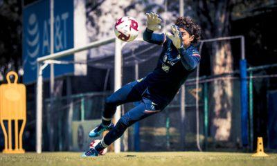 Memo Ochoa con América. Foto: Club América