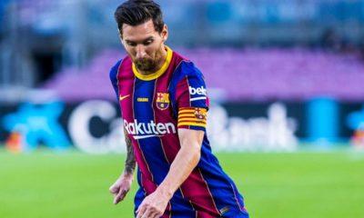 Messi grillo al Tata Martino. Foto: Twitter Barcelona