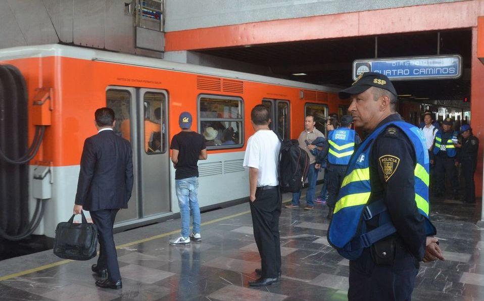 Metro Chabacano asalto. Foto: Cuartoscuro