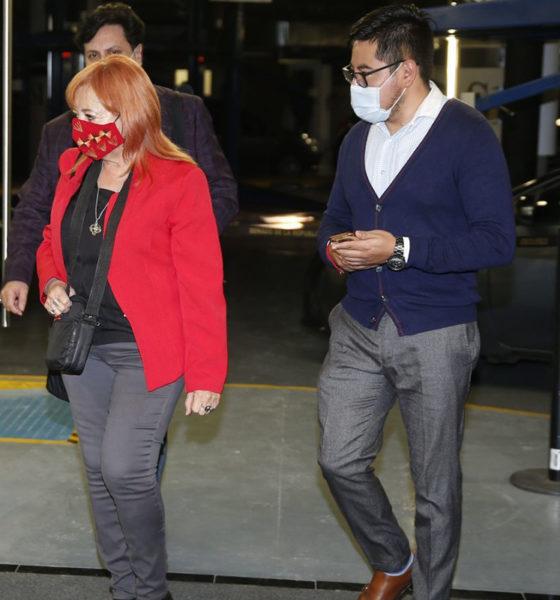 Senadores piden renuncia de Rosario Piedra en la CNDH; ella guarda silencio