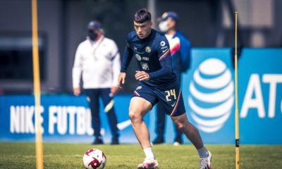 Sufre accidente Federico Viñas. Foto: Club América