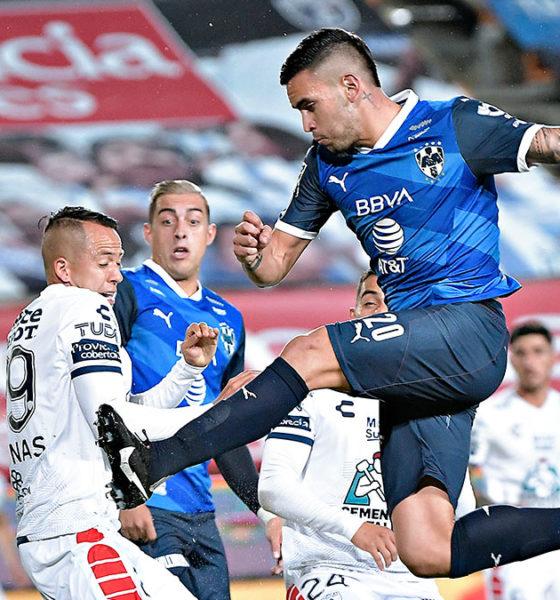 Sufrido empate de Pachuca ante Monterrey. foto: Twitter Monterrey