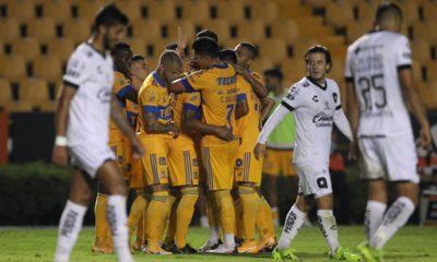 Tigres le pegó a Querétaro. Foto: Liga MX Imago7