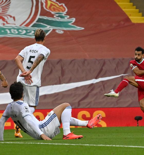 Trepidante empate de Liverpool en la Liga Premier. Foto: Twitter Liverpool