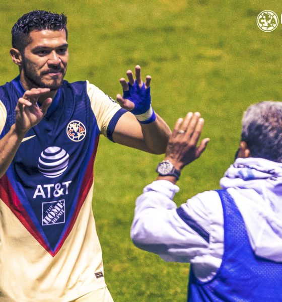 Trepidante victoria de América ante Puebla. Foto: Twitter América