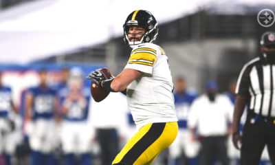 Triunfo de los Steelers de la mano de Big Ben. Foto: Twitter Steelers