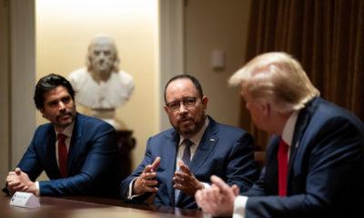 Embajador Landau felicita a Verástegui por nombramiento en equipo de Trump
