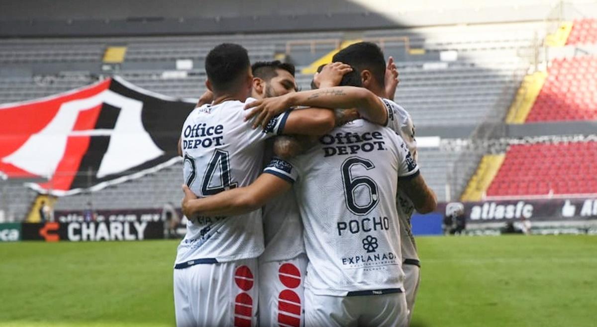 Pachuca caza a los Zorros del Atlas en el estadio Jalisco. Noticias en tiempo real