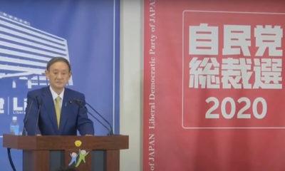 Eligen a Yoshihide Suga como primer ministro de Japón
