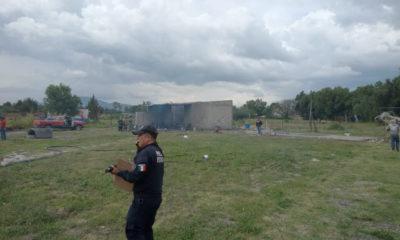Explota polvorín en Zumpango; tres mujeres sufrieron quemaduras