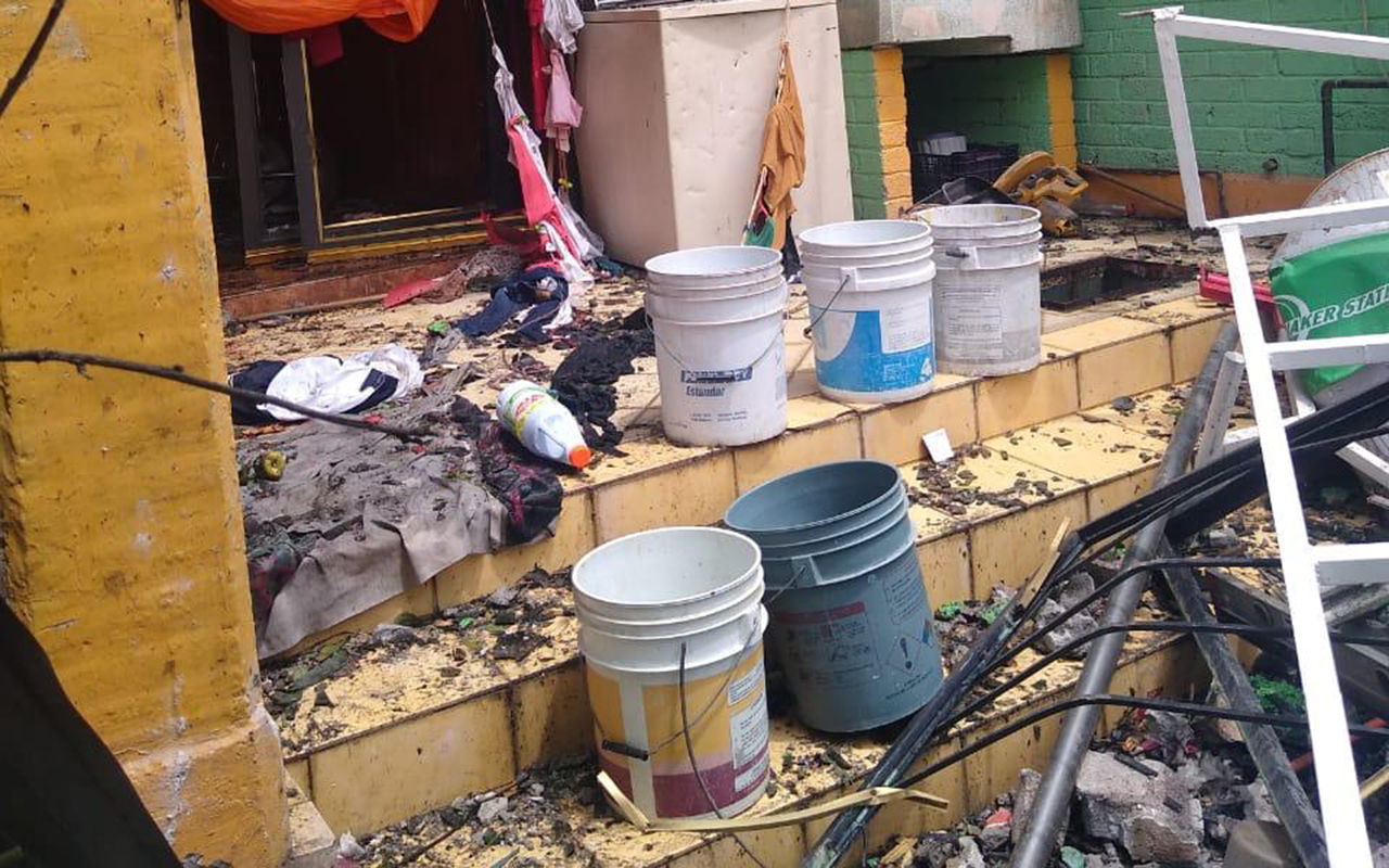 Explota pirotecnia en casa de Ixtapaluca; una persona murió