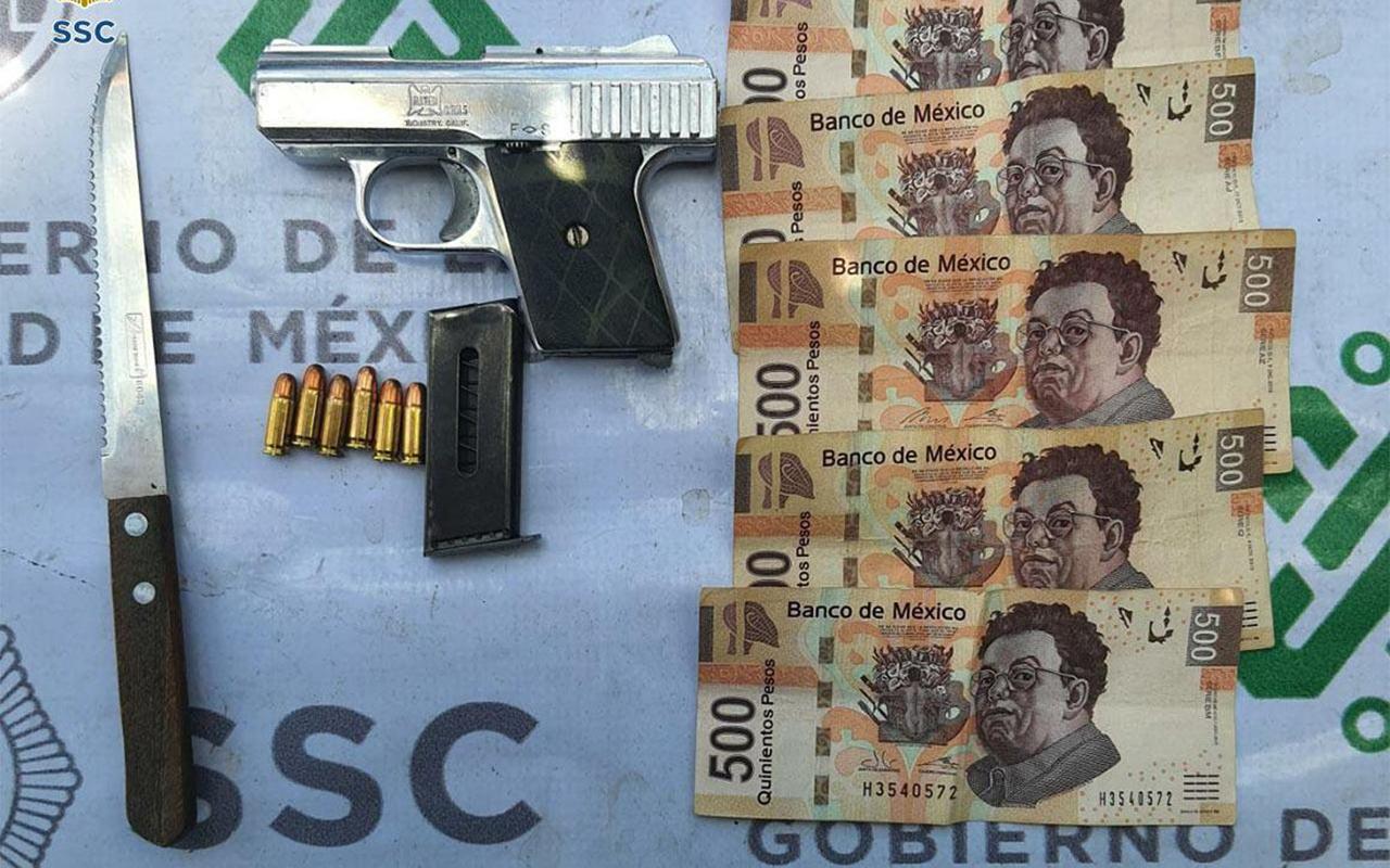 Detienen a presuntos asaltantes de usuarios de casas de cambio