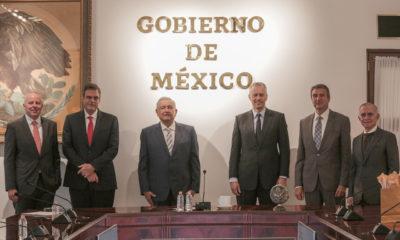 López Obrador se reúne con director de Coca-Cola Mundial