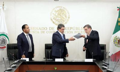 Senado turna a SCJN solicitud de consulta para enjuiciar a expresidentes