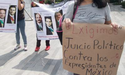 AMLO prepara reforma para impulsar juicio a expresidentes
