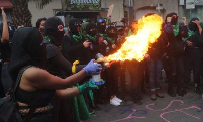 """Identifican a """"feministas violentas""""; pero no pisarán la cárcel"""