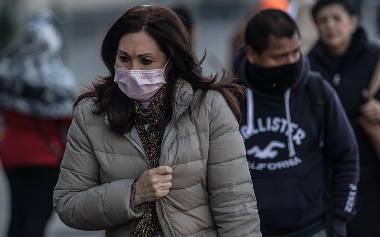 Pronostican 54 frentes fríos a México durante la temporada otoño-invierno