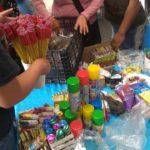 Ils retirent les vendeurs de feux d'artifice à Tlalnepantla